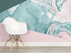 Marble Wallpaper, Our Favorite New Home Décor Trend: Here are seven versions you need in your life right now.