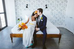 Colorful styled shoot reminding us of the spring.