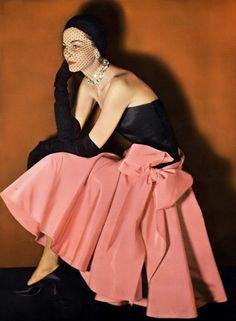 Eva Gerney, photo by John Rawlings, Vogue, February 1, 1950