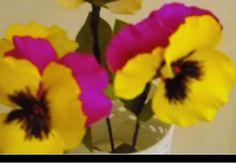 DIY Paper Flower - Pansy / Viola