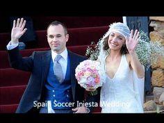 Boda De don andres iniesta y Anna Ortiz   (Primeras imágenes en vivo) 2012 (Tarragona (España)