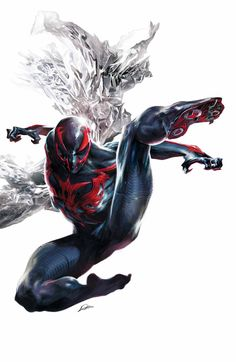 SPIDER-MAN 2099 #2 Peter David (W) • William Sliney (A) Cover by Alexander Lozano ARTIST VARIANT BY TBA • Life's not easy when you're a Spider-Man from the year 2099 stuck in our present. • But what's the bigger danger: bank robbers, or beautiful women? • Peter David's truimpant return to the character he created continues! 32 PGS./Rated T …$3.99