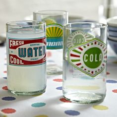 A favourite pin: DRH collection retro water tumbler #johnlewis #home