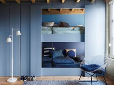 Reminiscent of a pair of well-worn jeans, Denim Drift by Dulux is an easy-breezy hue.
