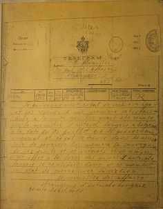 """Austro-Hungarian government's telegram to the government of Serbia on 28 July 1914th Declaration of war. """"The royal government of Serbia having not satisfactorily answered the notice that had been handed to it by the minister of Austro-Hungary in Belgrade on the 23rd of July 1914 the imperial and royal government finds itself compelled to provide itself for its rights and interest's protection ... Therefore, Austro-Hungary considers itself henceforth in state of war"""