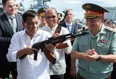 The Philippines won't stop purchasing weapons from Moscow, despite possible pressure from the US, the nation's foreign minister has said in response to reports that Washington may introduce sanctions for arms deals with Russia. Larsen & Toubro, Philippines People, Russian Submarine, Mercury Insurance, Insider Trading, Rodrigo Duterte, Philippine News, Cheap Car Insurance, Russia News