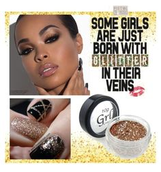 """""""GLITTER!!!!"""" by tainamaaria ❤ liked on Polyvore featuring beauty"""