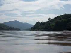 Mekong river still waters