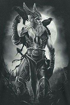 odin tattoo odin tattoo - odin tattoo vikings - odin tattoo sleeve - odin tattoo symbols - odin tattoo design - odin tattoo vikings norse mythology - odin tattoo for women - odin tattoo mythology Art Viking, Viking Symbols, Viking Raven, Viking Life, Viking Ship, Viking Woman, Fantasy Kunst, Fantasy Art, Tattoo Odin