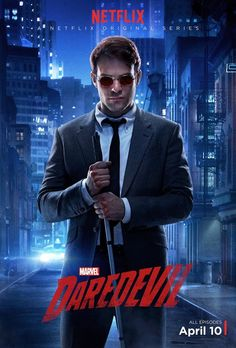 Marvel Studios And Netflix, via IGN, have unveiled character posters for the upcoming Daredevil live-action TV series. Check out Charlie Cox as Matt Murdock, Elden Henson as Foggy Nelson, Deborah […] Daredevil Tv Series, Daredevil 2015, Series Da Marvel, Serie Marvel, Netflix Daredevil, Netflix Marvel, Avengers, Funny Movies, The Simpsons