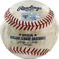 Dodgers vs. Rockies Game Used Baseball 8-19-2007