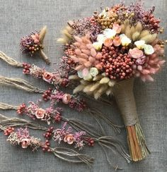 Wedding Bride Bouquet, Bride Crown, 6 Pieces Bridesmaid Corsage, 6 Pieces Boutonniere, Dried Flower – T-Shirts & Sweaters Bridal Hairstyle Indian Wedding, Indian Wedding Bride, Wedding Hairstyles With Veil, Indian Weddings, Bridal Hairstyles, Hair Wedding, Indian Bridal, Boho Wedding, Wedding Blog