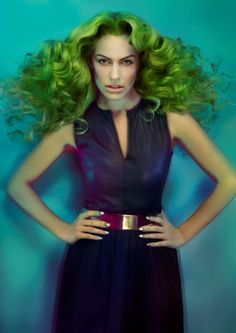 POP ART Hair Stylist: Aiden Horwood Colourist: Aaron Toner