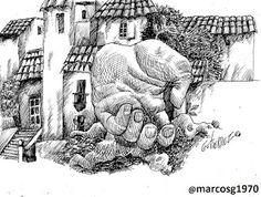 Marcelo Marcos Gutierrez: #art🎨, #artwork, #work, #ilustracion, #lapicera, ...