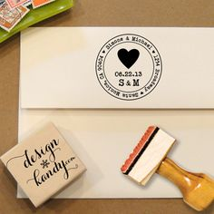 Handmade Wedding Stationery from Designkandy... will need it with all those letters to address