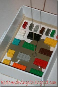 How to make a lego soap mold