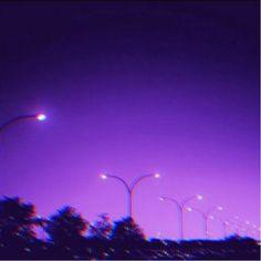 #purple #aesthetic #night #sky  #freetoedit