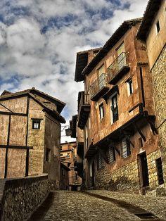 Albarracín, Aragon, Spain. Uno de los pueblos más especiales de España.
