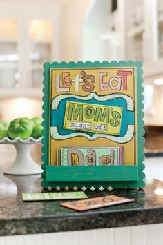 Mother's Day gift idea:  magnetic menu board, Things With Wings: This Thing Called Family