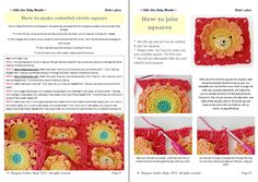 Dada's place: Little lion baby blanket pdf pattern & step-by-step tutorial