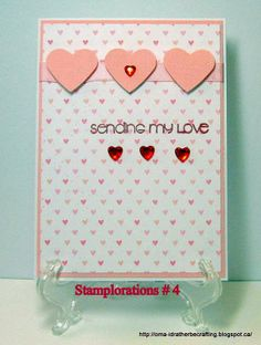 I'd rather be crafting: STAMPlorations sketch challenge