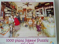 Susan Brabeau SunsOut Jigsaw Puzzle 44274 Soda Fountain #SunsOut