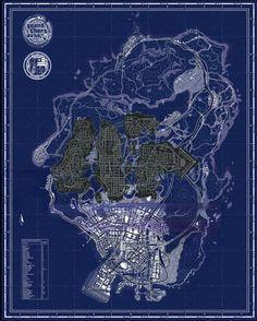 GTA V map compared to GTA IV - Imgur