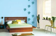 Blue Bedroom!