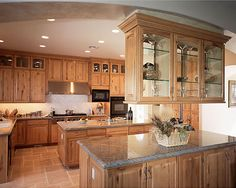 Rustic Maple Cabinets