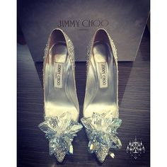 """""""I am in love with Peggy Wedding Shoes from @jimmychoo ❤️#jimmychoo #cinderellashoe #amazingshoes #blingshoes #bryanpeggysayido @peggie.f - Wedding Planning by @coutureweddingplanning"""" Photo taken by @coutureweddingplanning on Instagram, pinned via the InstaPin iOS App! http://www.instapinapp.com (12/08/2015)"""