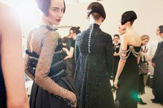 Chanel Fall 2015 Haute Couture Backstage