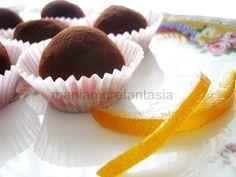 tartufini di cioccolato
