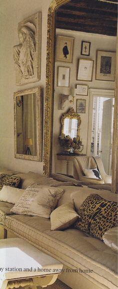 400 square feet, interior designer Stephen Shubel's Paris flat