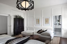 """Michael Del Piero, of Michael Del Piero Good Design,on Farrow & Ball's Strong White No. 2001: """"Strong Whitekeeps the interior fresh and modern yet also somewhat traditional."""""""