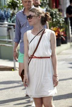 Such an effortless dress. #style