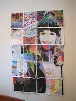Squidalicious: Cheap Fun Art Projects How-To: Collaborative Photo Mosaic