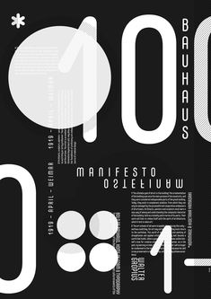 Bauhaus Movement Magazine - design for Dm Poster, Poster Design, Graphic Design Posters, Graphic Design Typography, Flyer Design, Book Design, Layout Design, Branding Design, Black And White Posters