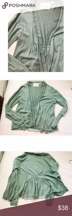 Angel of North Cardigan // Anthropologie Mint condition! Anthropologie Sweaters Cardigans