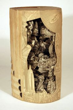 Brian Dettmer – Paper Art - 100 Extraordinary Examples of Paper Art | Webdesigner Depot