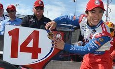 Indycar (Détroit) : Takuma Sato s'élancera en pole de la C2