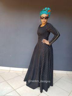 New mens african fashion 3209 Shweshwe Dresses, African Maxi Dresses, White Maxi Dresses, African Attire, African Wear, African Women, African Clothes, African Fashion Designers, African Print Fashion