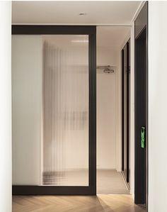 Sliding Door in the entrance area