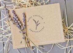 BP4U Blog Resource - Brand Designers for Photographers Logo design, kraft and jute, packaging, lavender, brand, branding, photography branding, kraft note card, kraft card, photography watermark, lavender logo