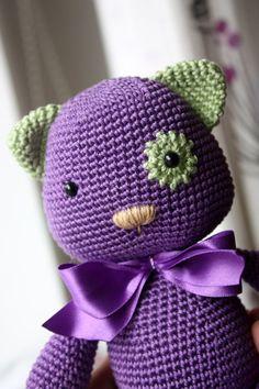 PATTERN  Amigurumi Kitty Pattern Crochet Cat von TinyAmigurumi