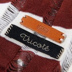 Knit Border Stole by Tricote
