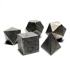 geometric paper weights