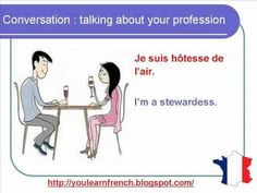 French Lesson 104 - Talking about your profession - Dialogue Conversation + English subtitles