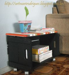 Art Mari Rodrigues: Era uma vez um caixote...
