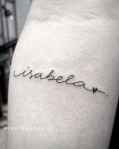 Sons Name Tattoos, Husband Name Tattoos, Tattoo Name Fonts, Name Tattoos For Moms, Name Tattoos On Wrist, Baby Name Tattoos, Wrist Tattoos For Women, Tattoos For Kids, Mom Tattoos