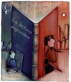 La lectura engrandece *